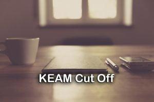 KEAM Cut Off
