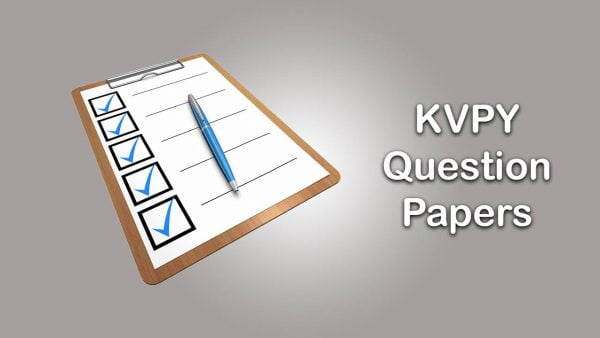 KVPY Question Papers