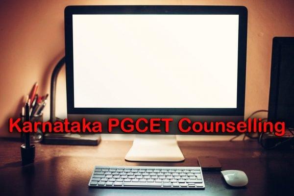 Karnataka PGCET Counselling
