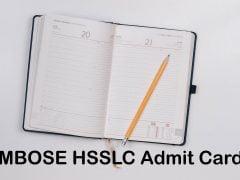MBOSE HSSLC Admit Card 2020 : Download Meghalaya Class 12 Admit Card 2020
