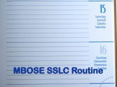 MBOSE SSLC Routine 2020 : Download Meghalaya Matric Routine 2020 PDF