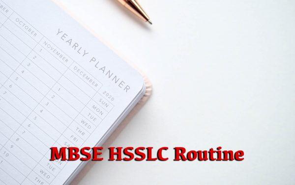 MBSE HSSLC Routine