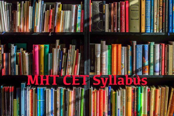 MHT CET Syllabus
