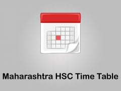 Maharashtra HSC Time Table 2020 : Download Maha HSC Time Table 2020 PDF