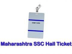 Maharashtra SSC Hall Ticket 2020 : Download Maha 10th Admit Card 2020
