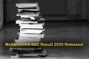 Maharashtra SSC Result 2020 Released