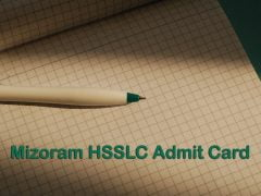 Mizoram Board HSSLC Admit Card 2020 : Download MBOSE HSSLC Admit Card 2020