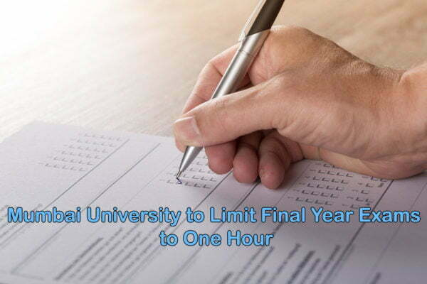 Mumbai University to Limit Final Year Exam Time