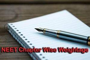 NEET Chapter Wise Weightage