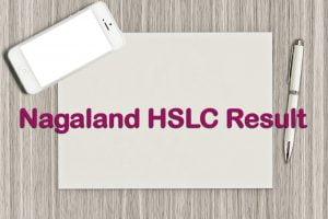 Nagaland Board HSLC Result