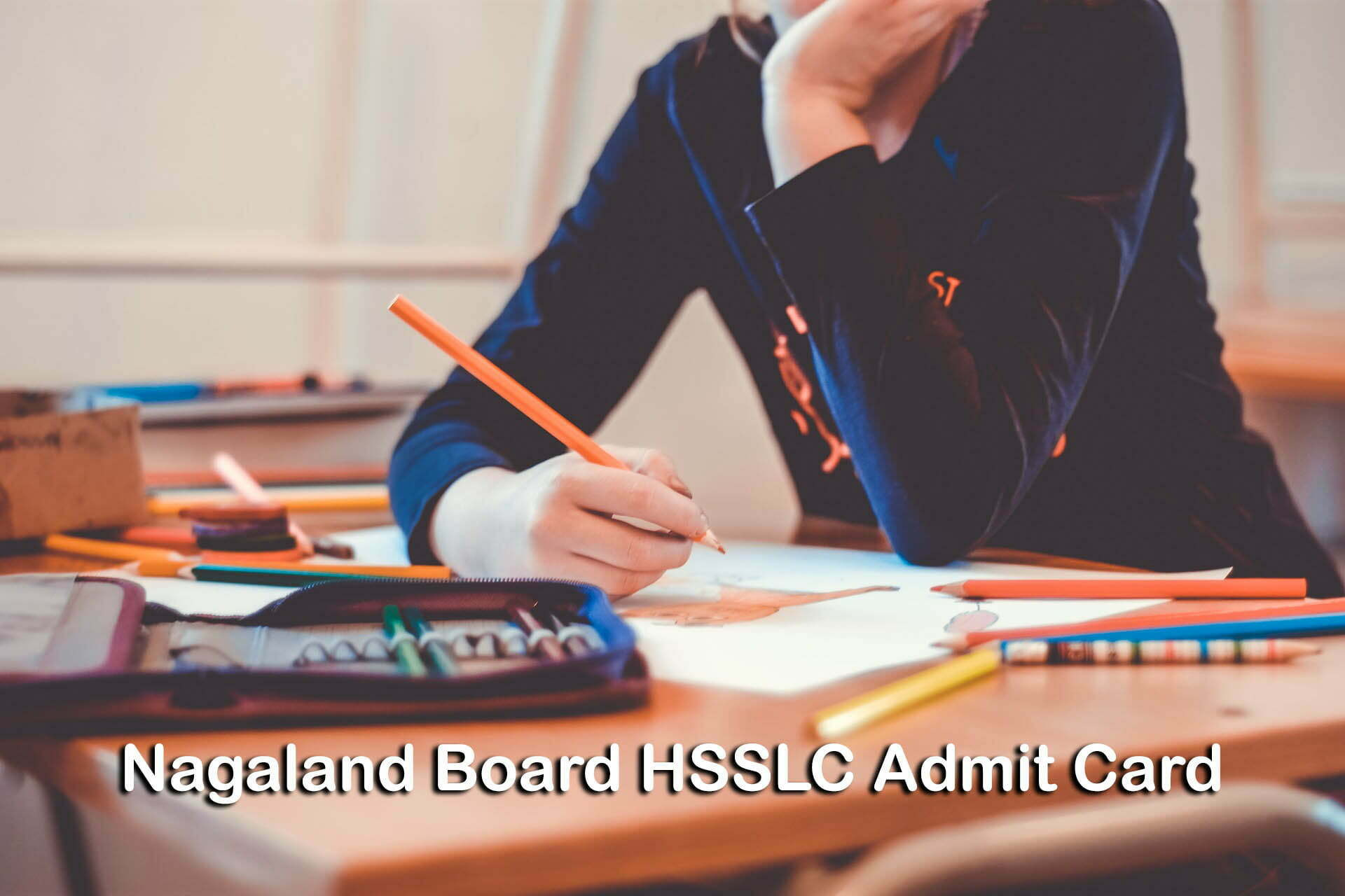 Nagaland Board HSSLC Admit Card