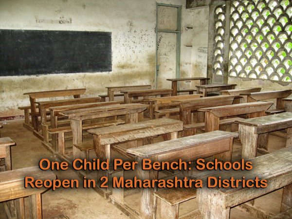 One Child Per Bench: Schools Reopen in 2 Maharashtra Districts
