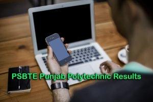 PSBTE Punjab Polytechnic Results