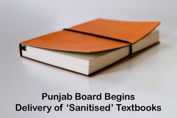 Punjab Board Begins Delivery of 'Sanitised' Textbooks
