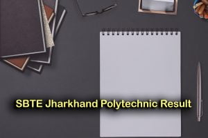 SBTE Jharkhand Polytechnic Result