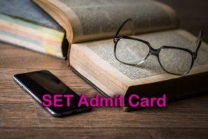 SET Admit Card