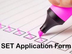 SET Application Form 2020: Symbiosis Entrance Test Form Filling Procedure
