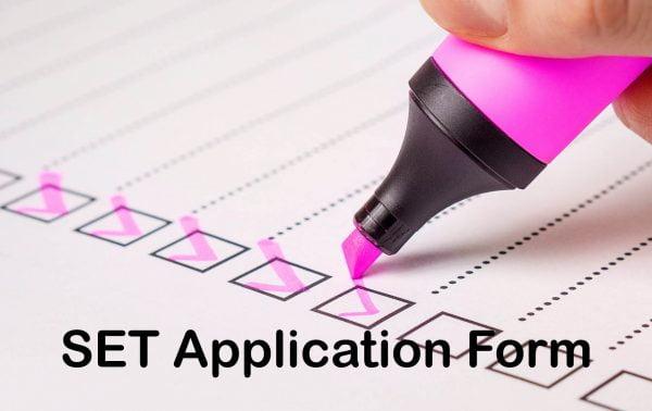 SET Application Form