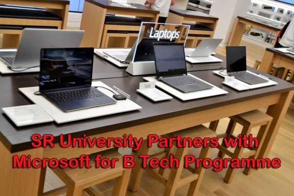 SR University Partners with Microsoft for B Tech Programme