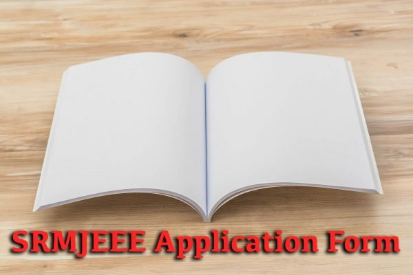 SRMJEEE Application Form
