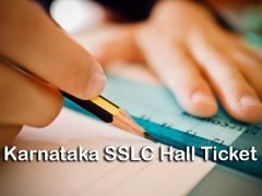 SSLC Hall Ticket 2020 Karnataka : Download Karnataka SSLC Admit Card 2020
