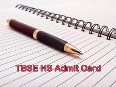 TBSE HS Admit Card 2020 : Download Tripura Board HS Admit Card