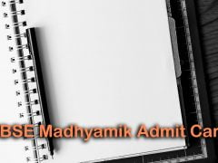 TBSE Madhyamik Admit Card 2020 : Download Tripura Board Madhyamik Admit Card