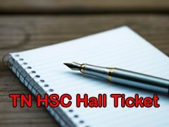 TN HSC Hall Ticket 2020 : Download Tamil Nadu 12th Hall Ticket