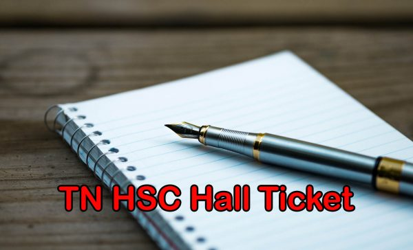 TN HSC Hall Ticket