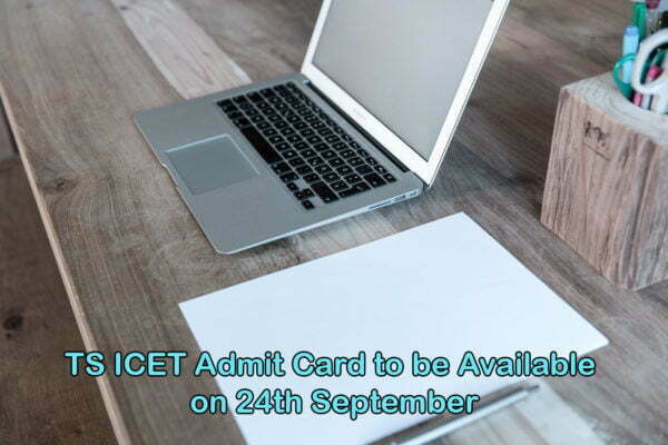TS ICET Admit Card to be Available on 24th September