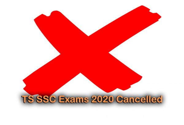 TS SSC Exams 2020 Cancelled