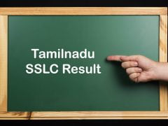 SSLC Result 2020 Tamilnadu : TN Board 10th Class Result 2020