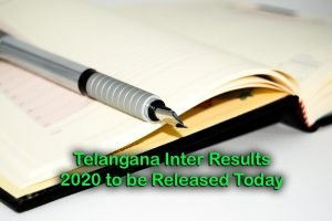 Telangana Inter Results 2020 to be Released Today