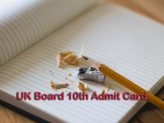 UK Board 10th Admit Card 2020 : Download Uttarakhand Board 10th Admit Card