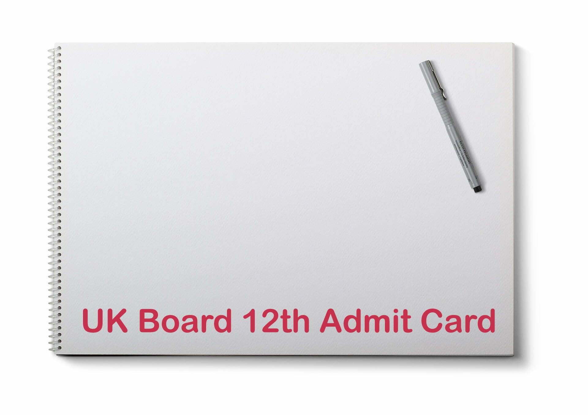 UK Board 12th Admit Card