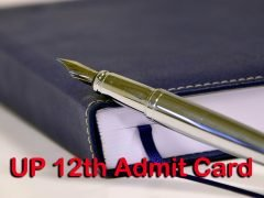 UP Board 12th Admit Card 2020 : Download UP Board Intermediate Admit Card