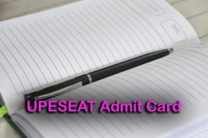 UPESEAT Admit Card