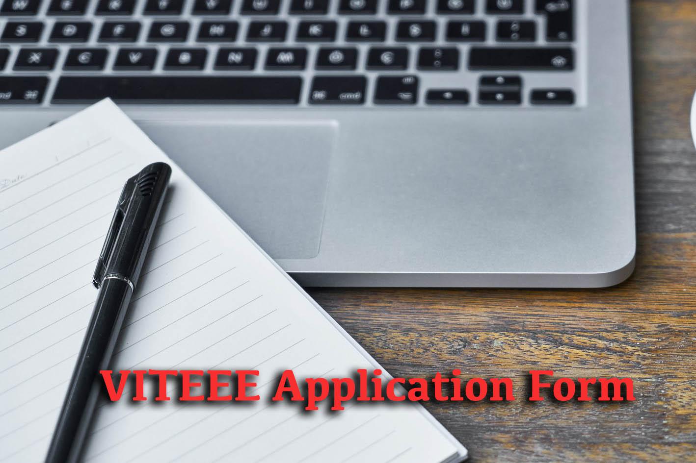 VITEEE Application Form