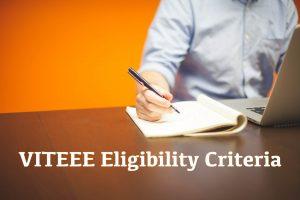 VITEEE Eligibility Criteria