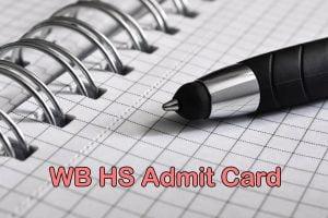 WB HS Admit Card