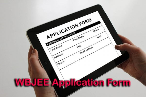 WBJEE Application Form