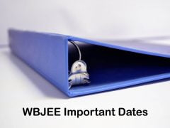 WBJEE Important Dates 2020 : WBJEE Exam Complete Schedule